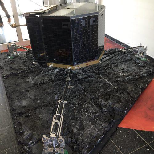 Modelo de Philae en Berlín