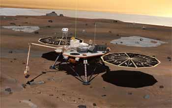 El robot Phoenix, de la NASA