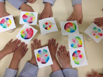 experimento de color
